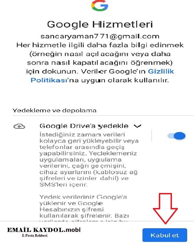 İphone Gmail Aç