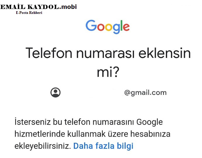 İphone Gmail Açma